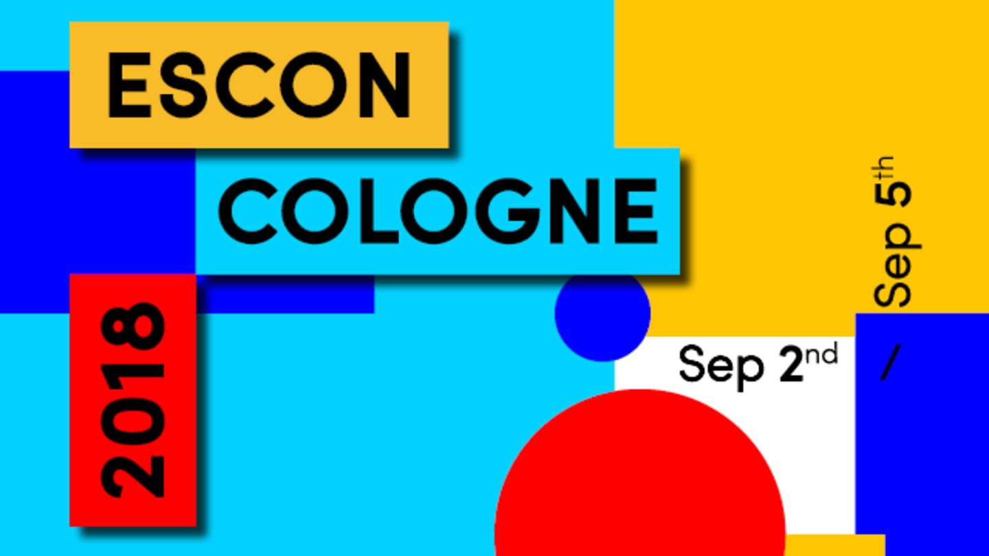 ESCON 2018 | University of Cologne